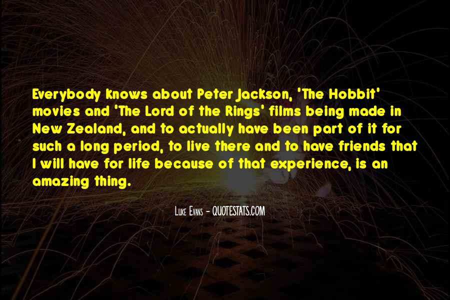 Quotes About Life From The Hobbit #1408210
