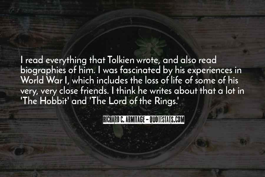 Quotes About Life From The Hobbit #588027