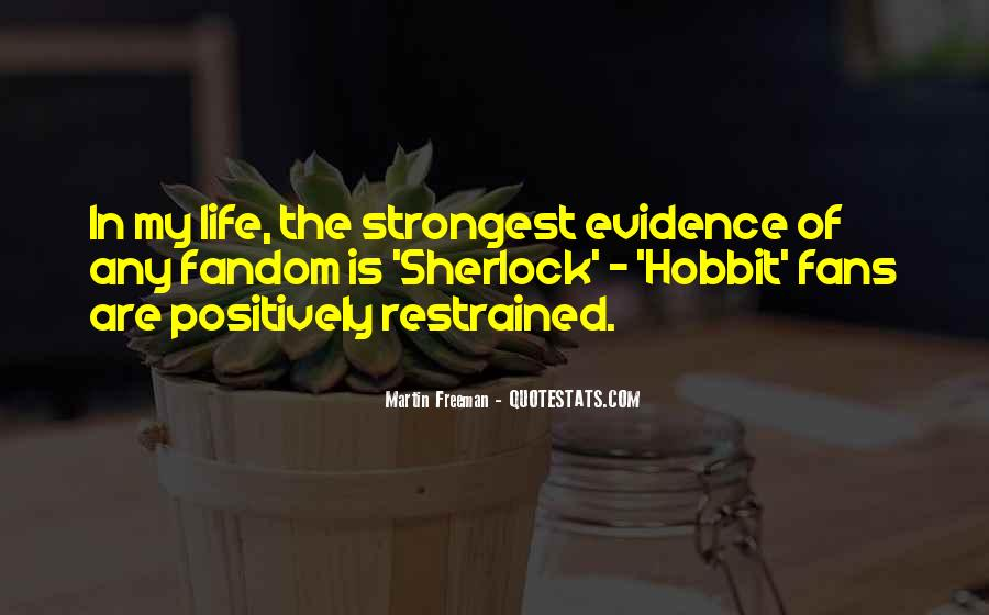 Quotes About Life From The Hobbit #932828