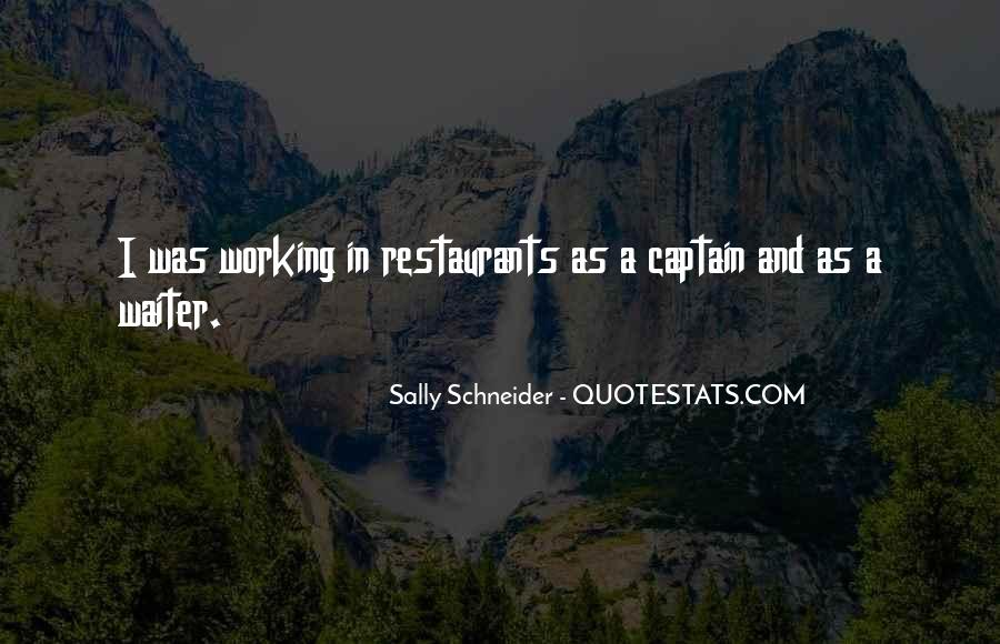 Quotes About Restaurants #111400