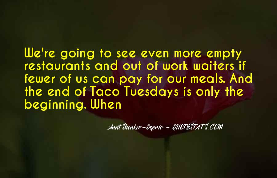 Quotes About Restaurants #118423