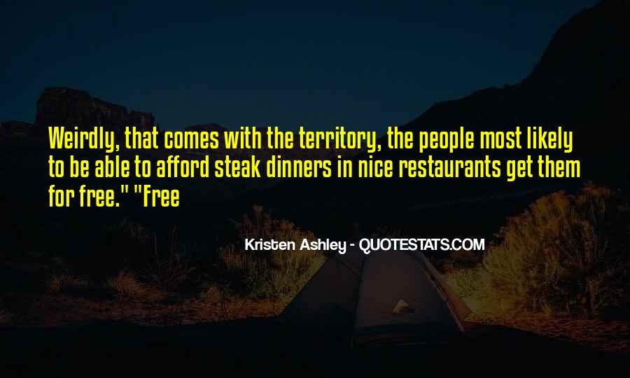 Quotes About Restaurants #133565