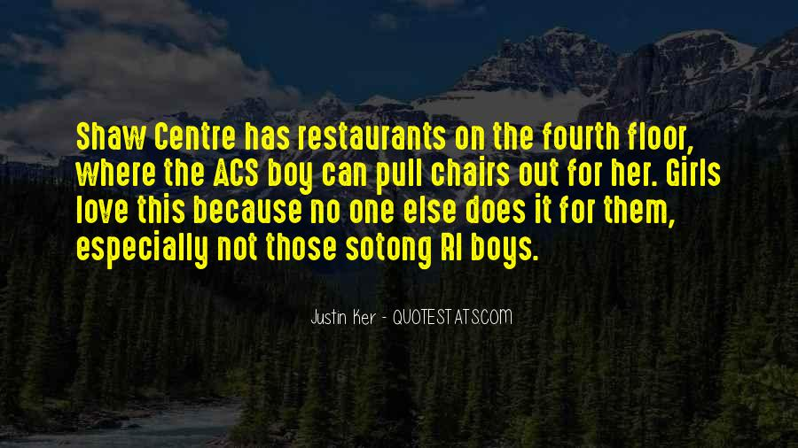 Quotes About Restaurants #145469