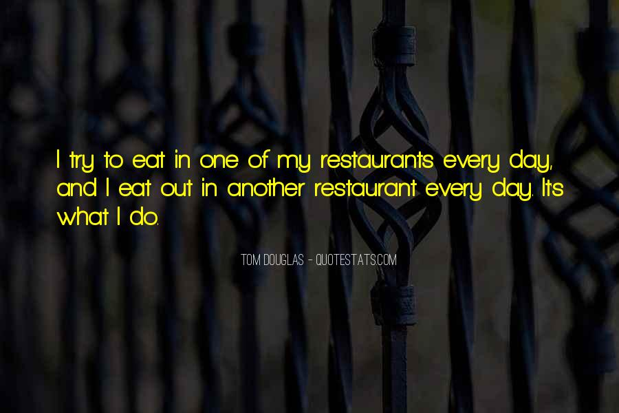 Quotes About Restaurants #162429