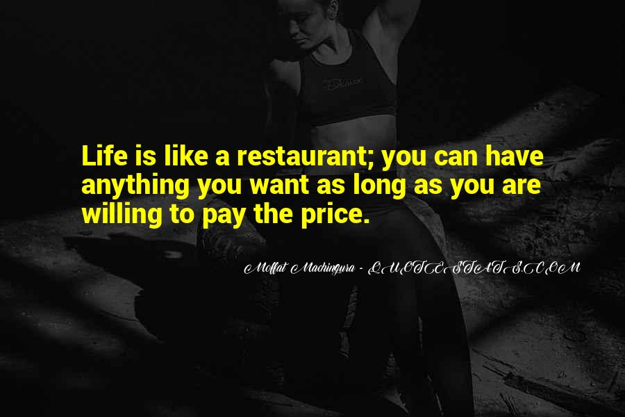 Quotes About Restaurants #169561