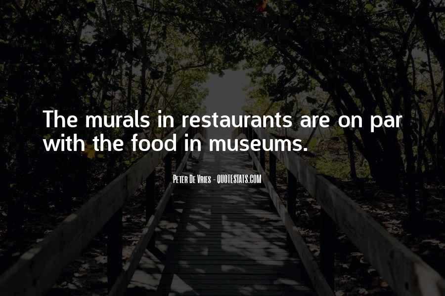 Quotes About Restaurants #203050