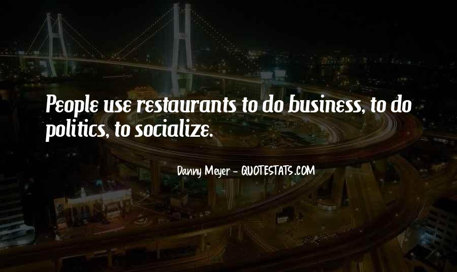 Quotes About Restaurants #206060