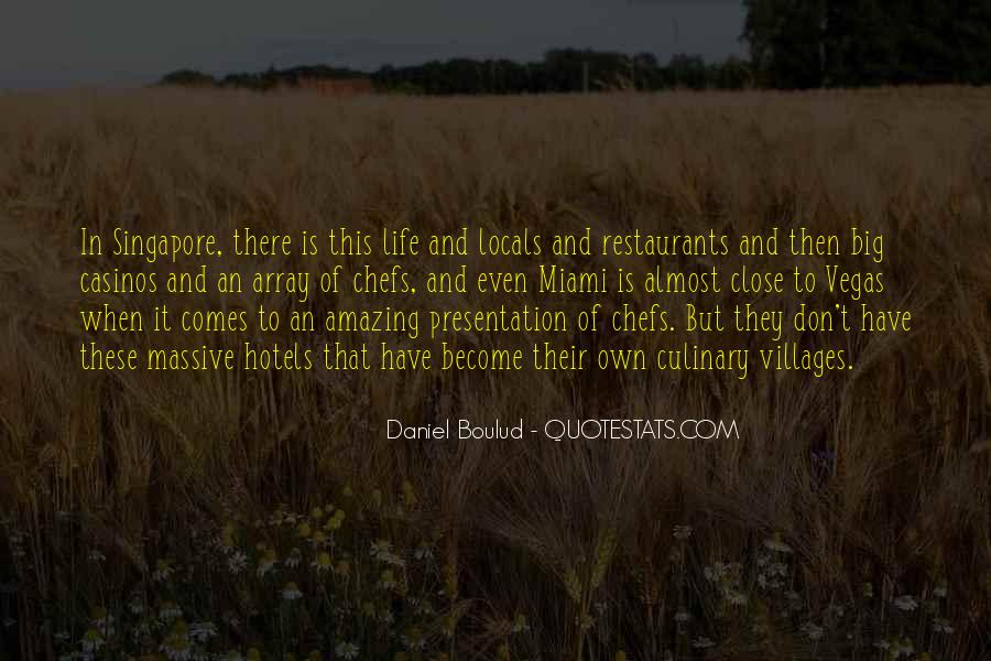 Quotes About Restaurants #221715