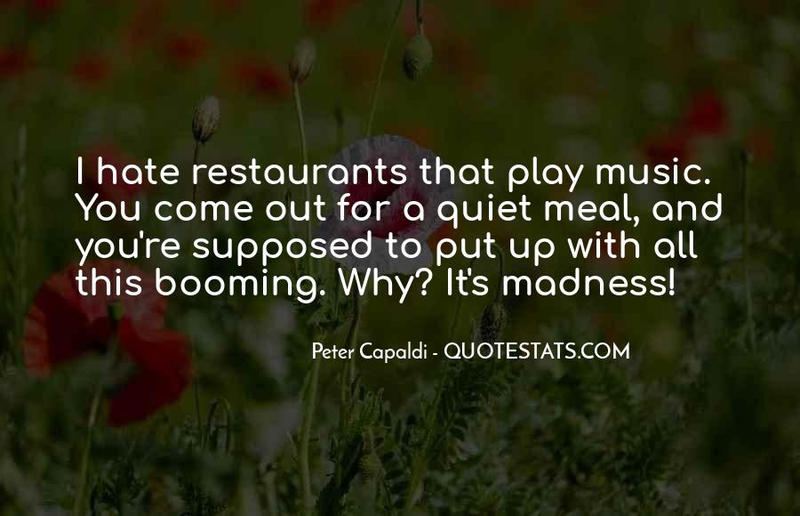Quotes About Restaurants #250910