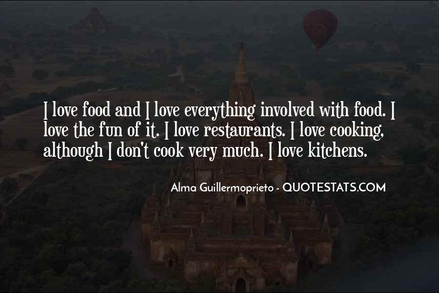 Quotes About Restaurants #268264