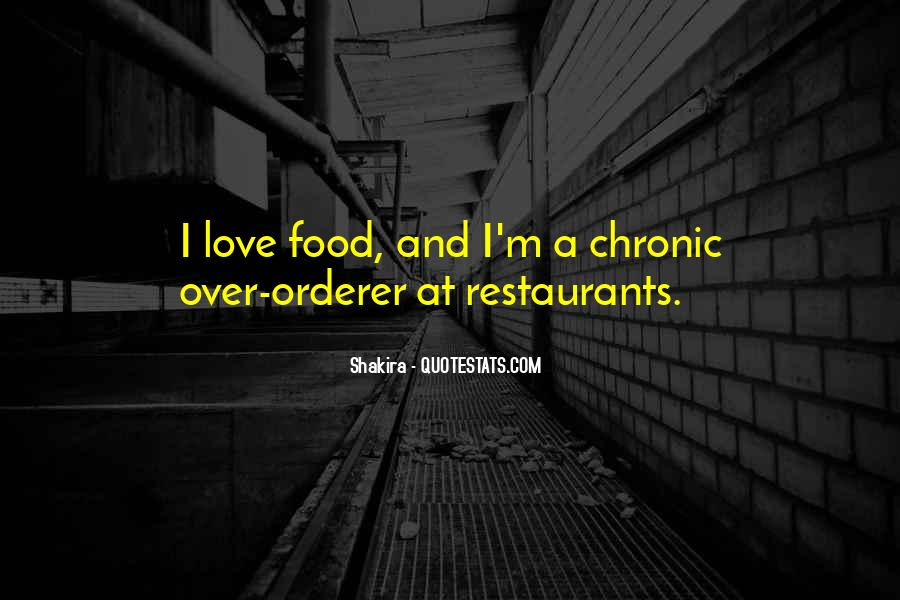 Quotes About Restaurants #285117