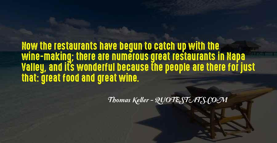 Quotes About Restaurants #28549