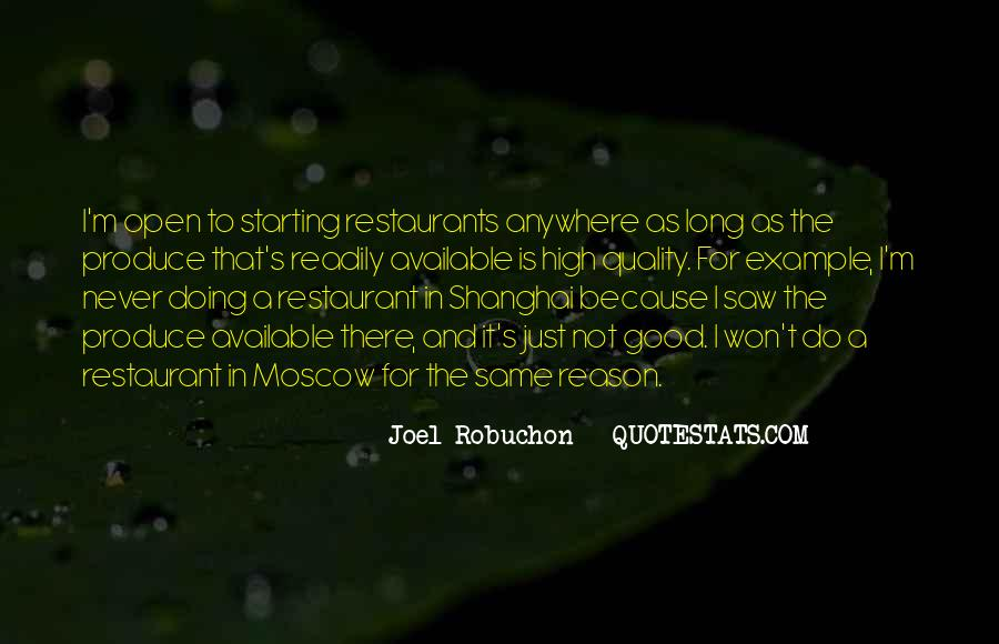 Quotes About Restaurants #305151