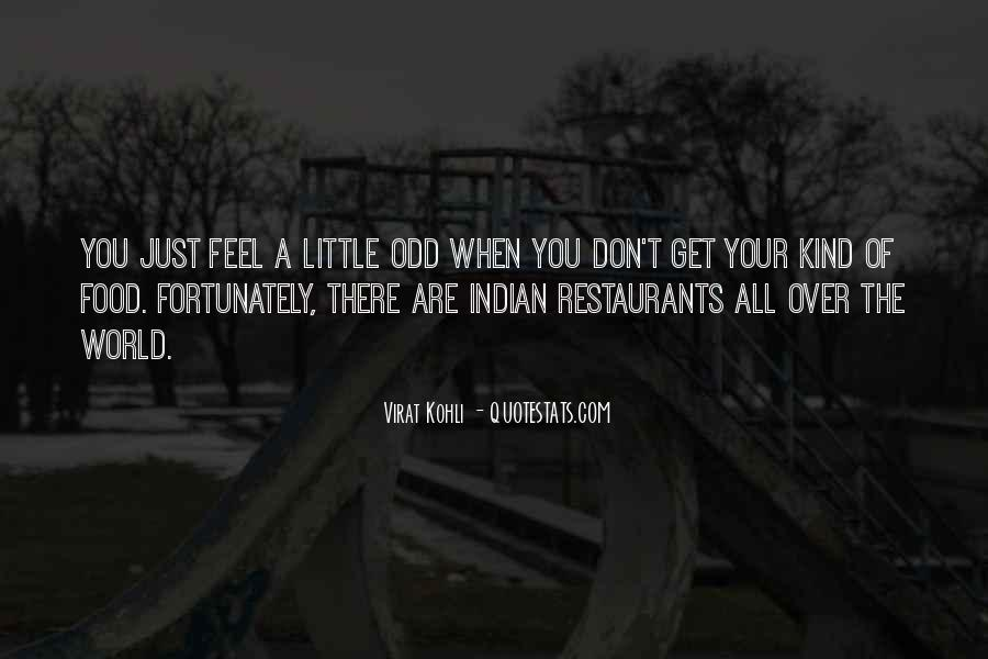Quotes About Restaurants #318324
