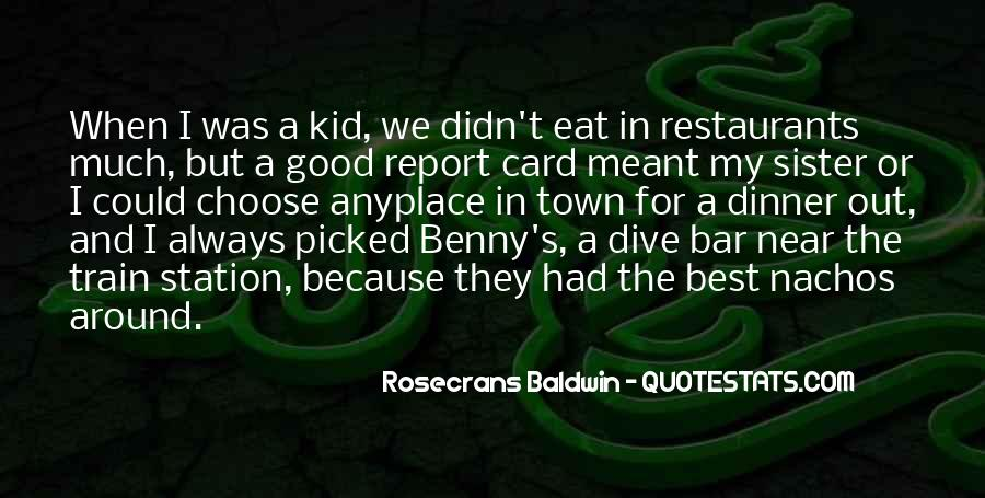 Quotes About Restaurants #333598