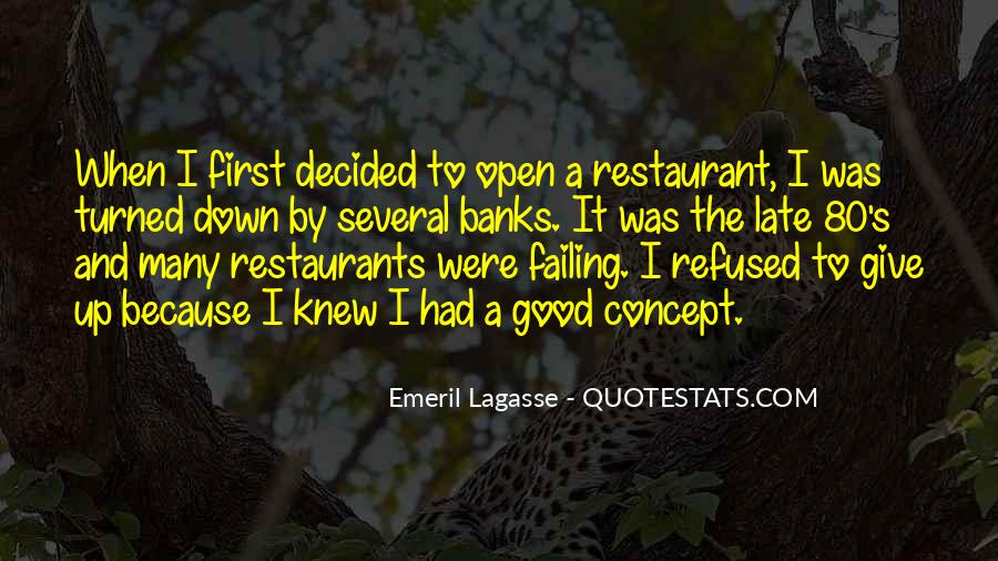 Quotes About Restaurants #50661