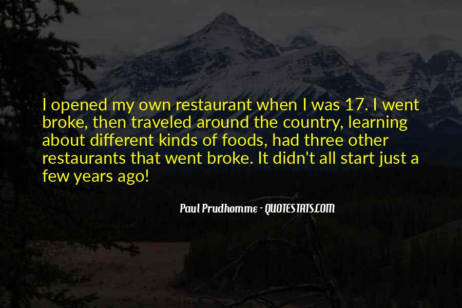 Quotes About Restaurants #57967