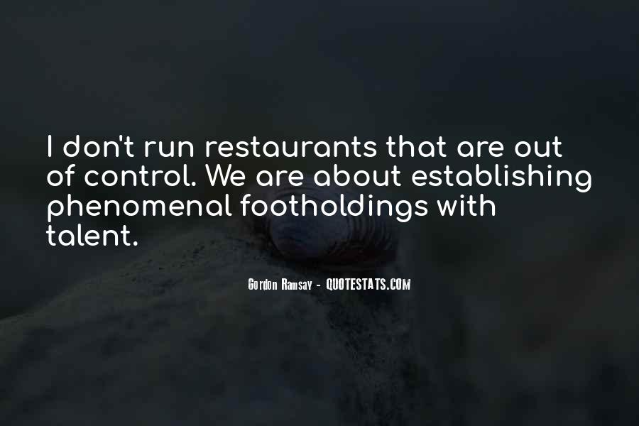 Quotes About Restaurants #5936