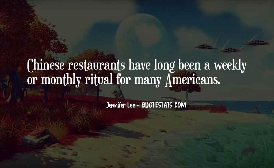 Quotes About Restaurants #69378