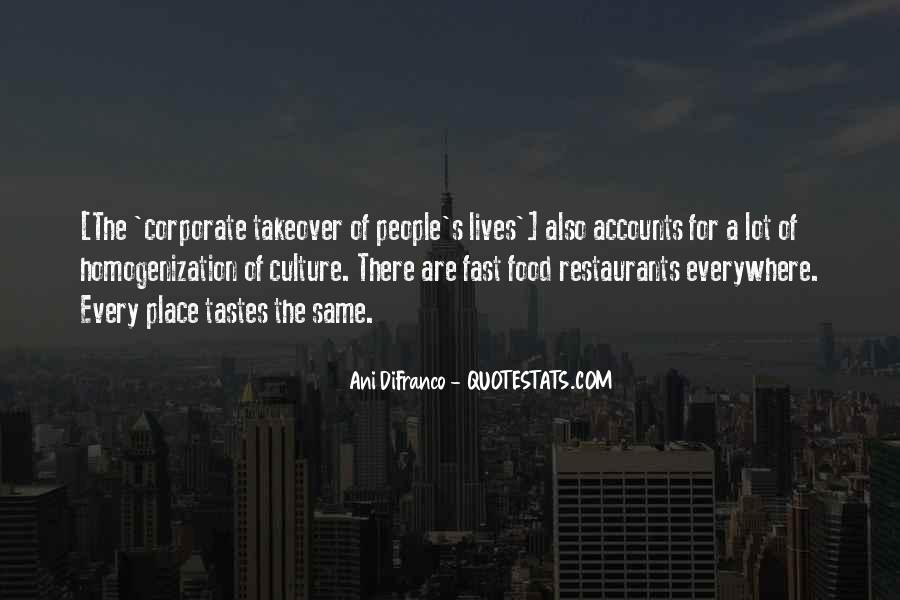 Quotes About Restaurants #91562