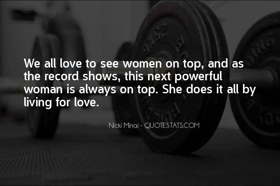 Quotes About Love Nicki Minaj #1028582