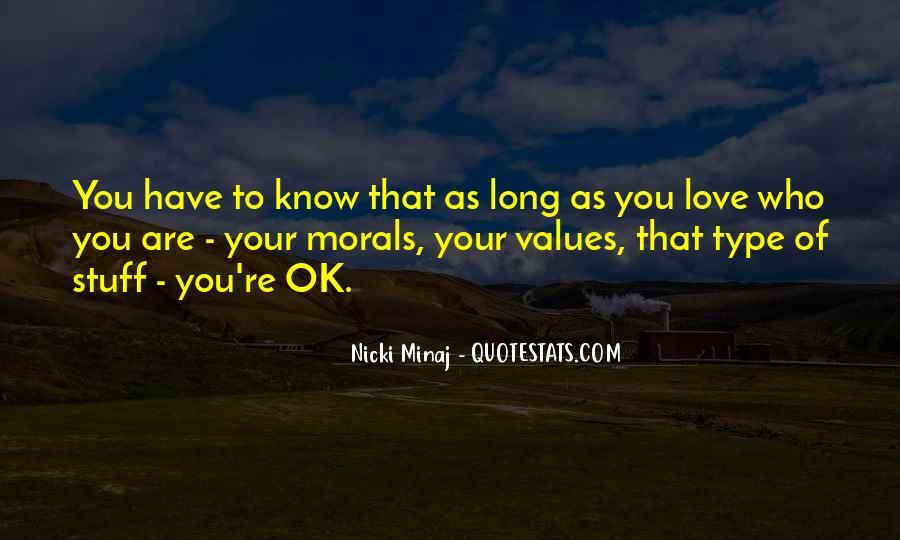 Quotes About Love Nicki Minaj #1709109