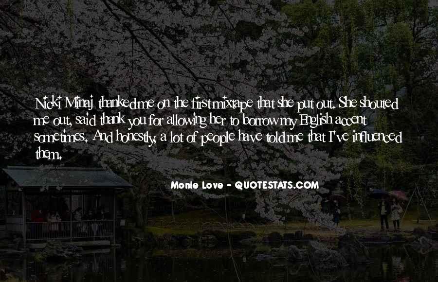 Quotes About Love Nicki Minaj #1837302