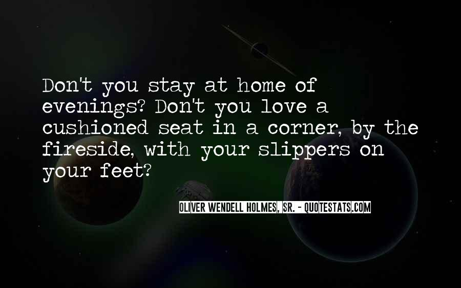 Quotes About Slippers And Love #369768