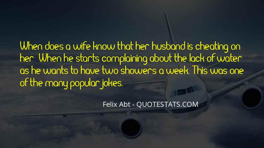 Quotes About Cheating Wife #156382