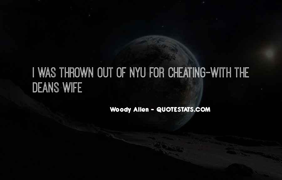 Quotes About Cheating Wife #1564279