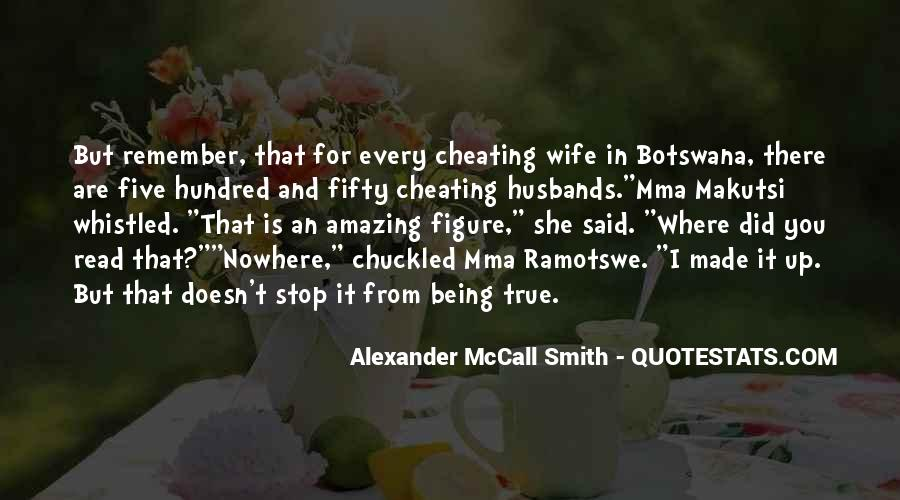 Quotes About Cheating Wife #459475