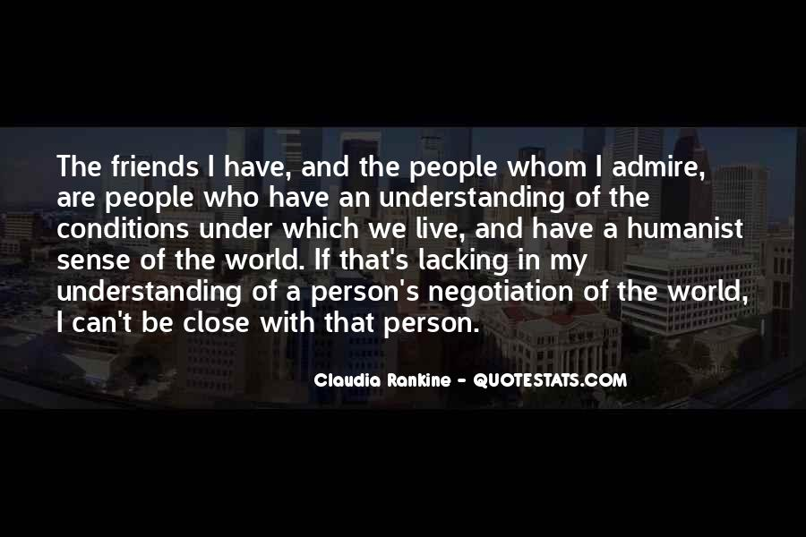 Quotes About Friends Understanding Each Other #328473
