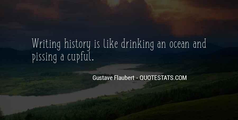 Quotes About Writing And Drinking #1150692