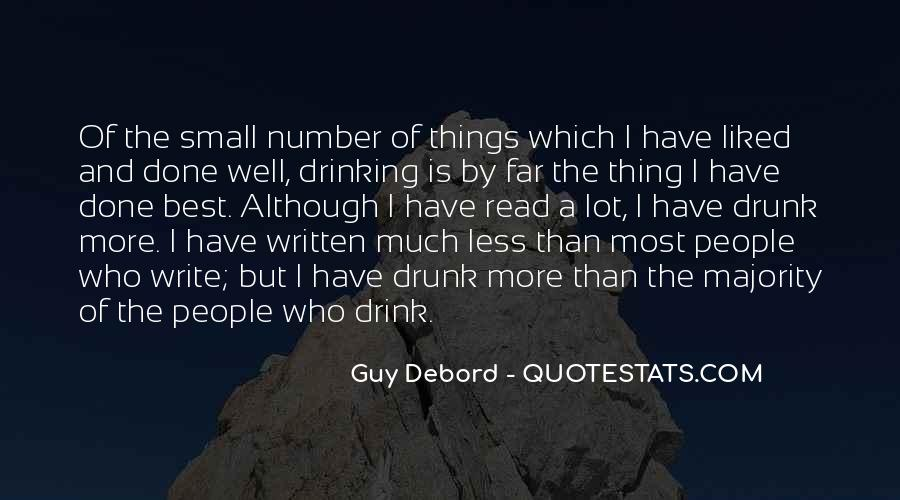 Quotes About Writing And Drinking #134634