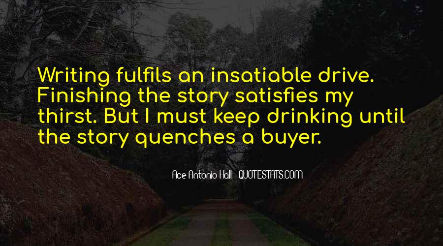 Quotes About Writing And Drinking #202275