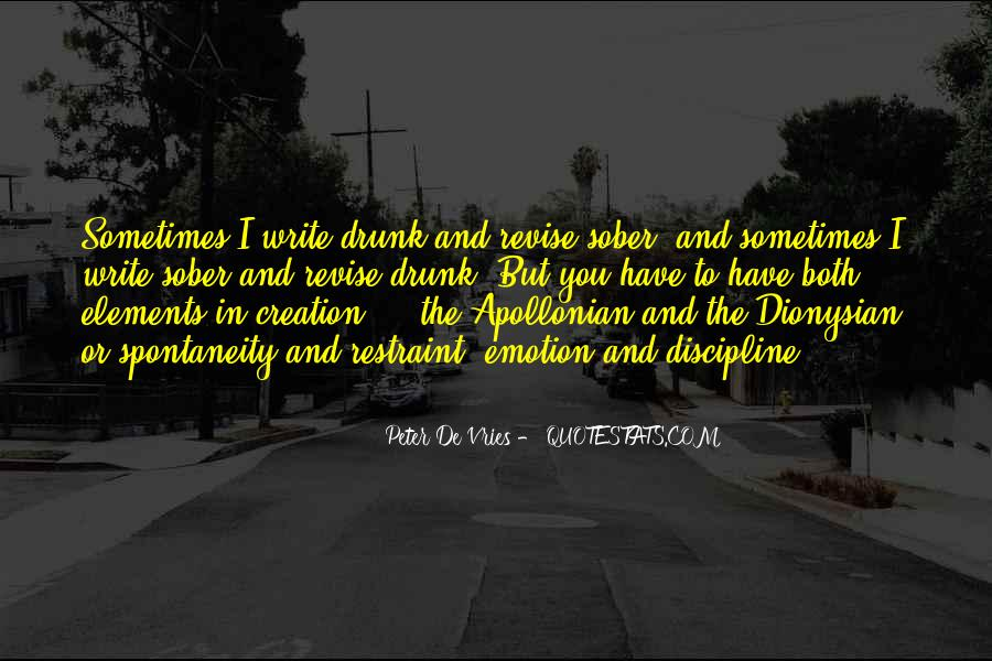Quotes About Writing And Drinking #4049