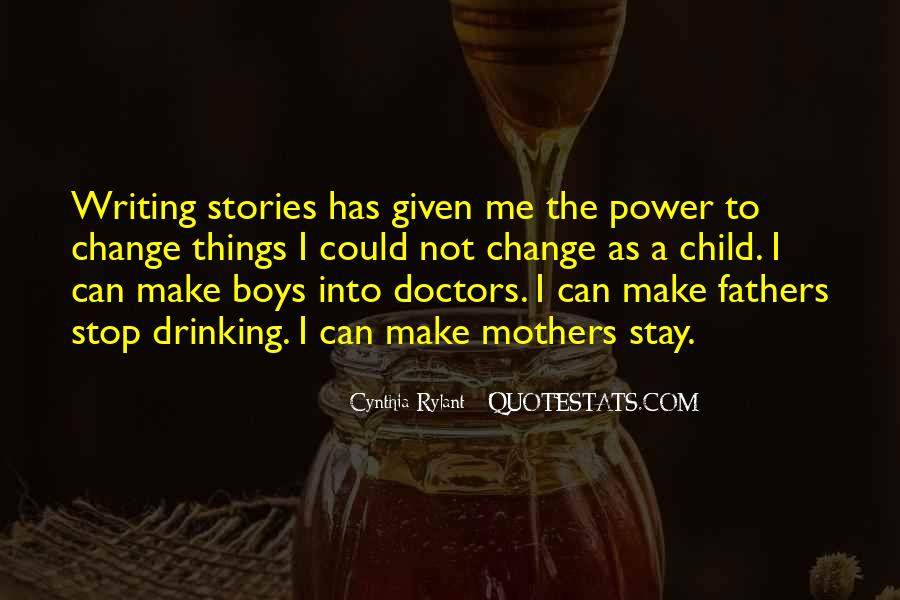 Quotes About Writing And Drinking #98555