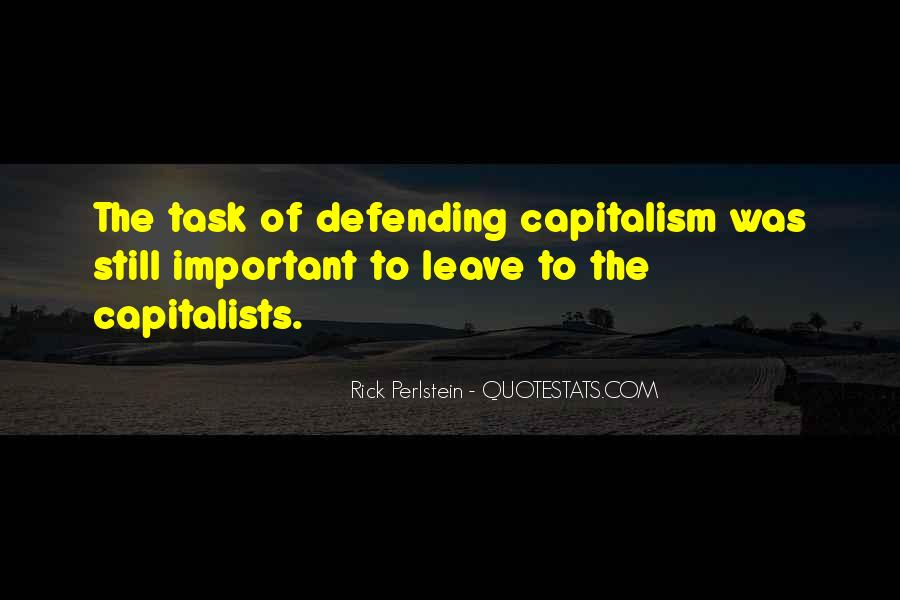 Quotes About Capitalists #1091875