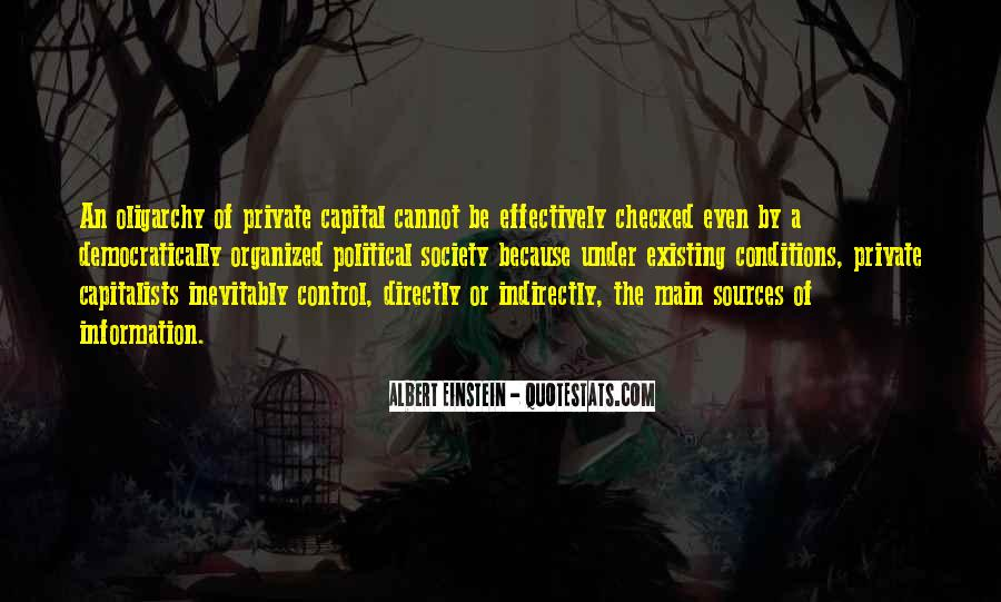 Quotes About Capitalists #52463