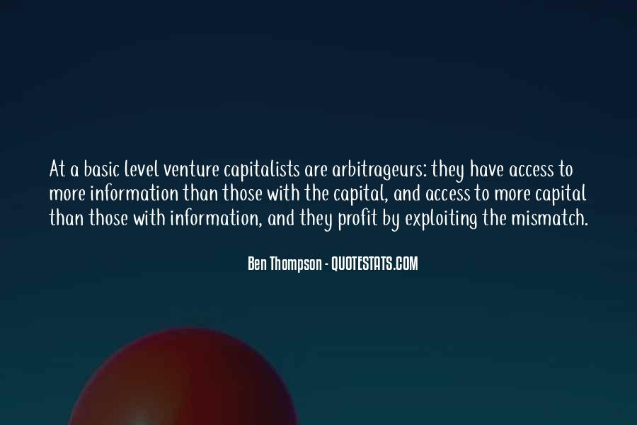 Quotes About Capitalists #570118