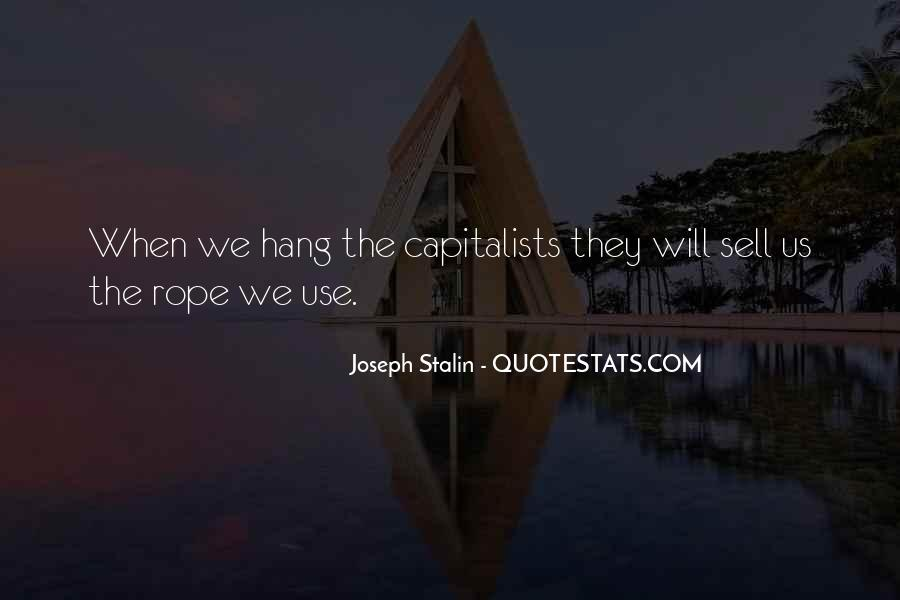 Quotes About Capitalists #953888