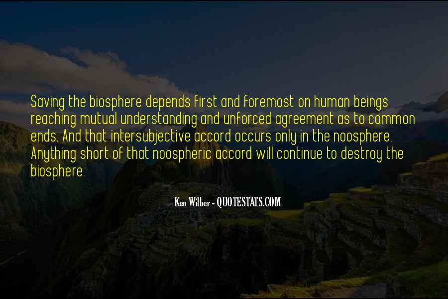 Quotes About Noosphere #1808017