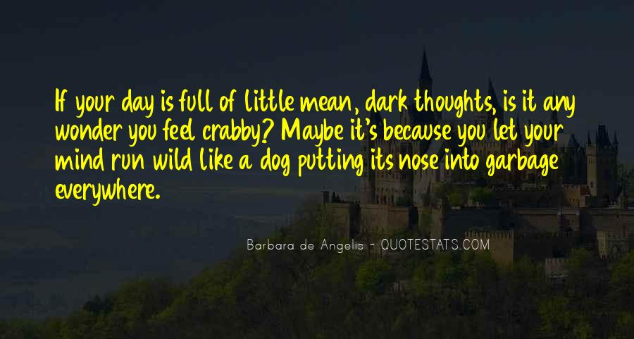 Quotes About A Dog's Nose #789057