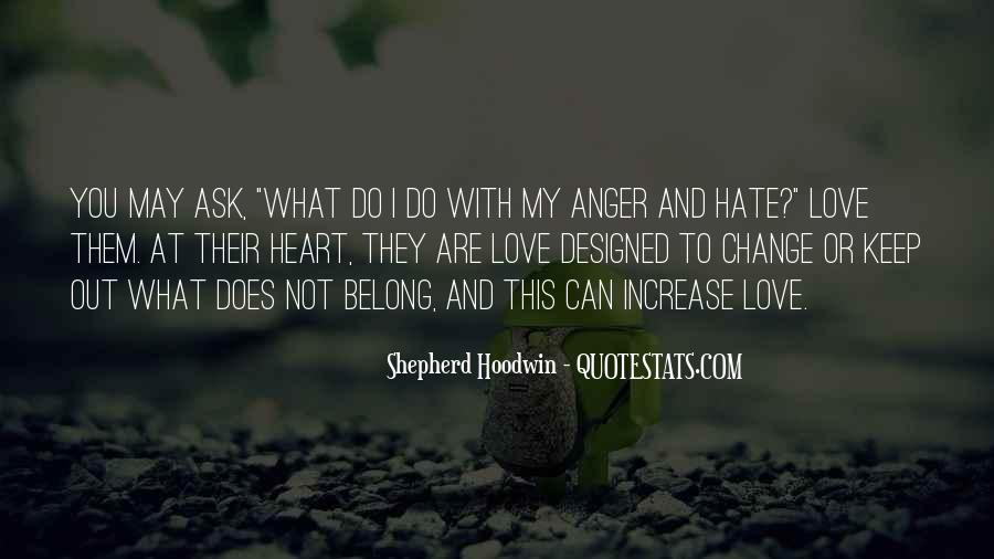 Quotes About Anger And Change #284532