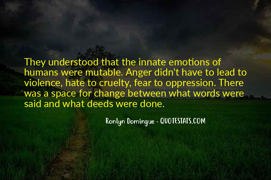 Quotes About Anger And Change #835367