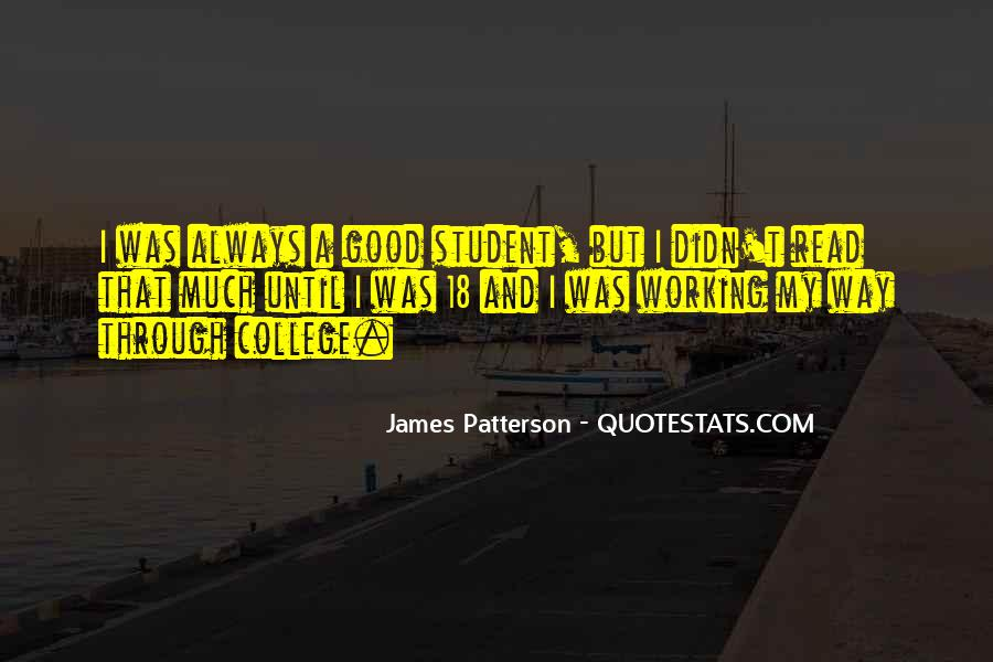 Quotes About A Working Student #1424587