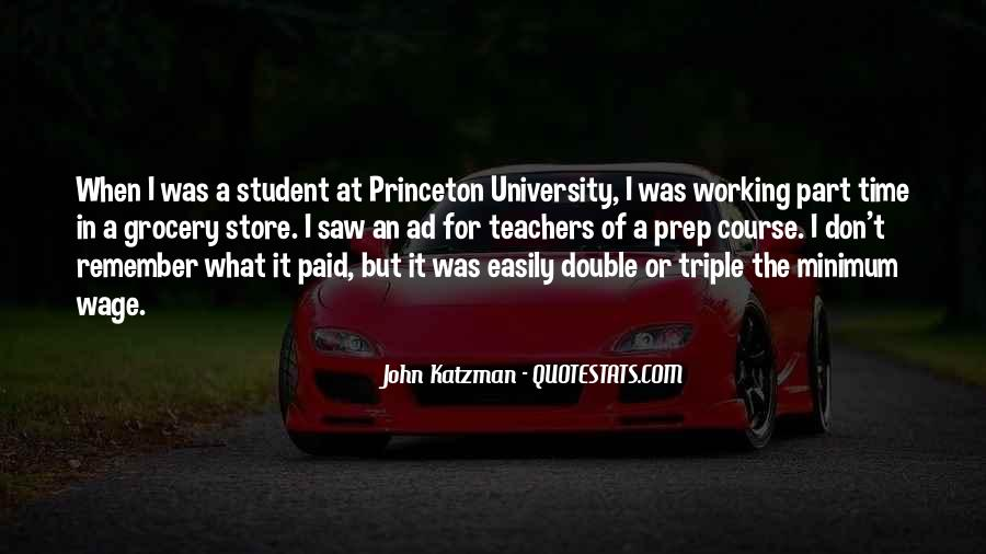 Quotes About A Working Student #45900