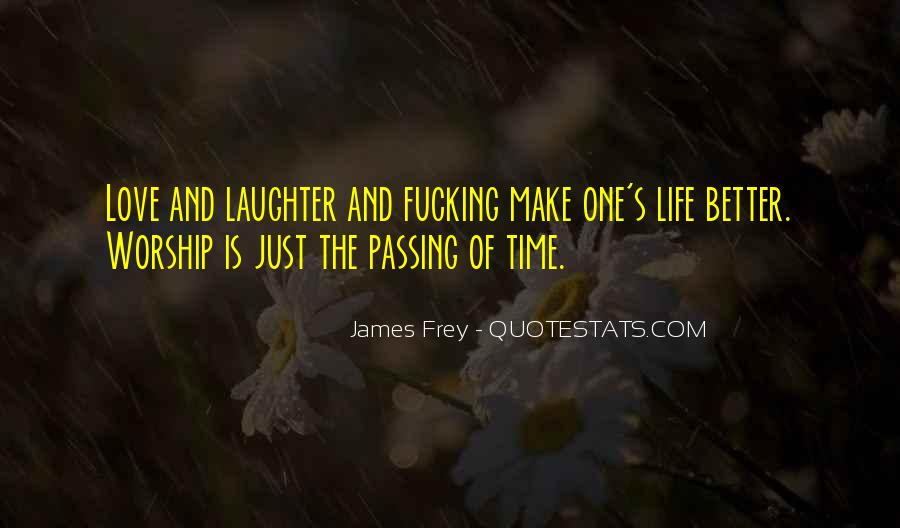 Quotes About Love And Time Passing #295346