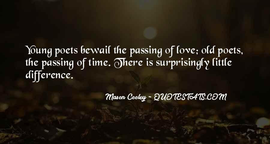 Quotes About Love And Time Passing #369061