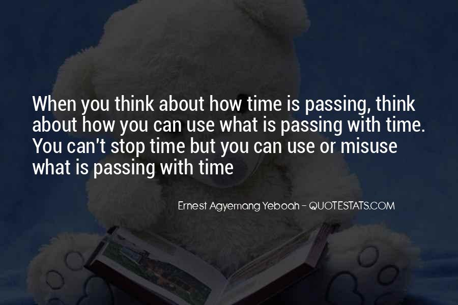 Quotes About Love And Time Passing #830989